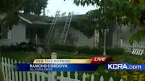 Fire damages Rancho Cordova house