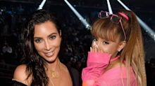 Ariana Grande Hilariously Trolled Kim Kardashian and North West for Their Very Familiar-Looking Ponytails