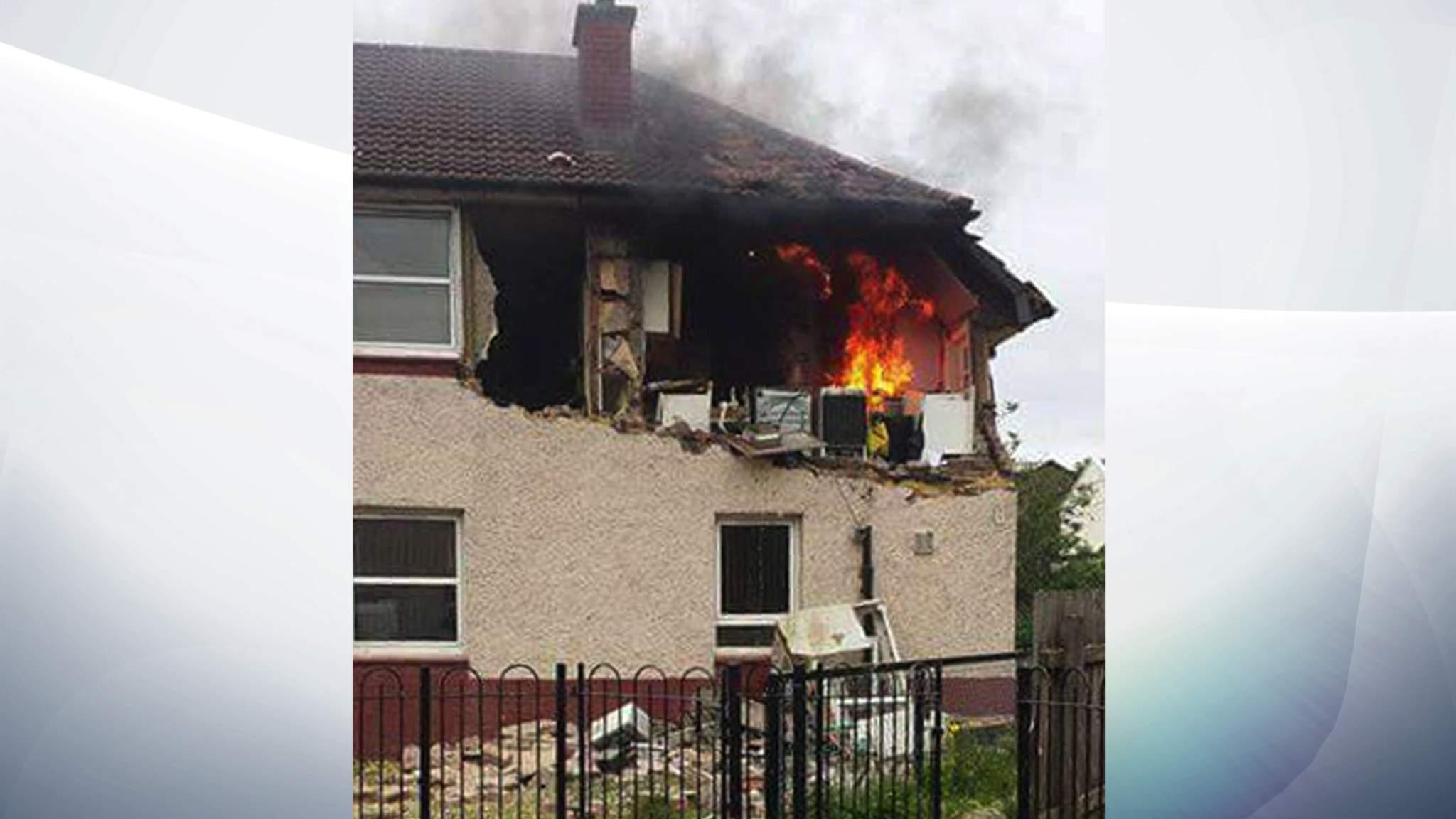 Gas Explosion Blows Out Walls Of Flat