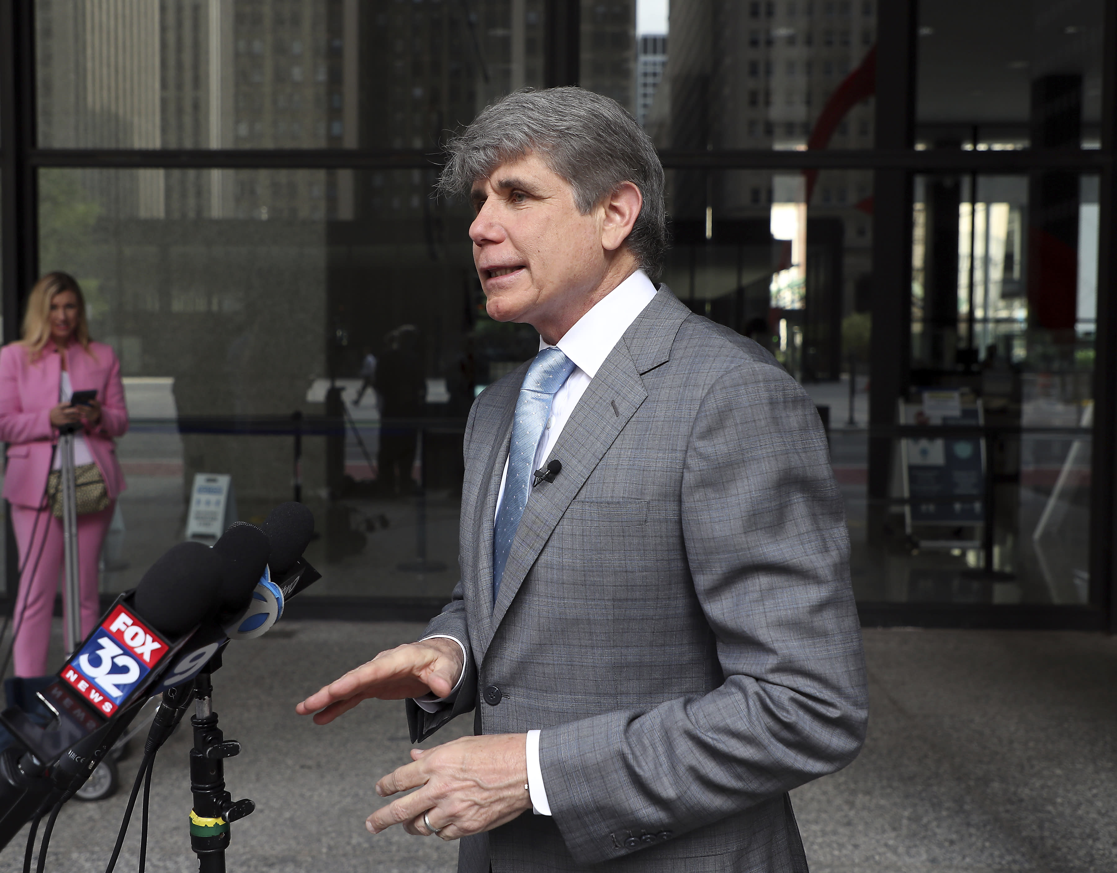 'I'm back': Ex-con Blagojevich sues for right to run again