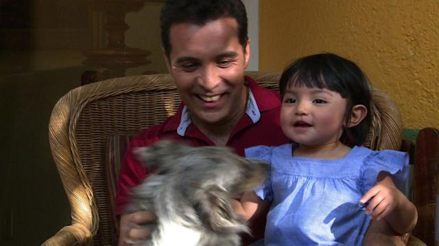 Mexican gay couple adopts a child