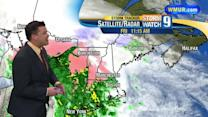 Heavier rain, mix move in Friday afternoon