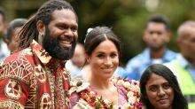 Meghan takes spotlight in Fiji to back female education