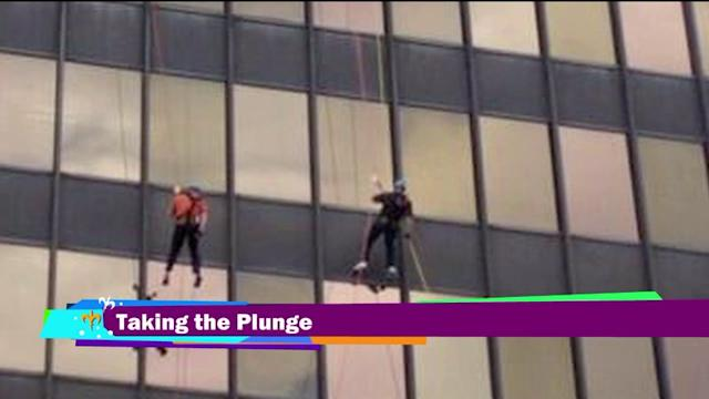 LSU Football Coach Repels Down Side of 20-Story Building