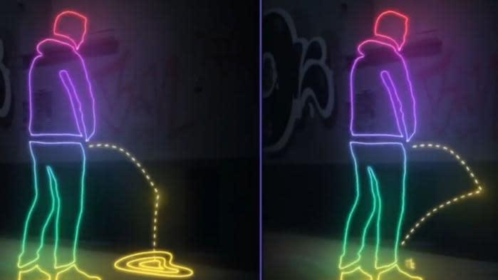 Bordeaux va expérimenter la peinture antipipi pour garder ses rues propres