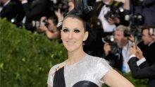 Celine Dion Fabulously Eats a Street Hot Dog in Met Gala Gown