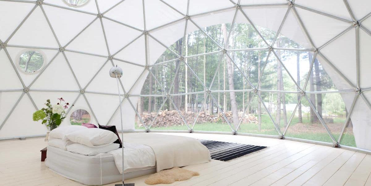 This Geodesic Dome on a Catskills Farm Offers the Ultimate ...
