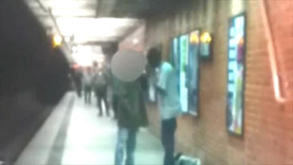 Police question man in deadly subway push
