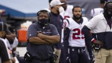 Texans' Romeo Crennel on J.J. Watt taking blame: 'It's my fault'
