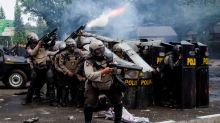 Protests in Indonesia against new jobs law enter third day