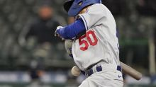 Mookie Betts injured by 95-mph pitch in Dodgers' loss to Mariners