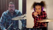 Dave Grohl a proposé à la jeune prodige de la batterie Nandi Bushell d'écrire une chanson avec lui