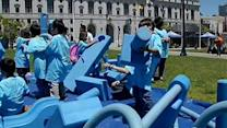 SF kids kick off first day of summer