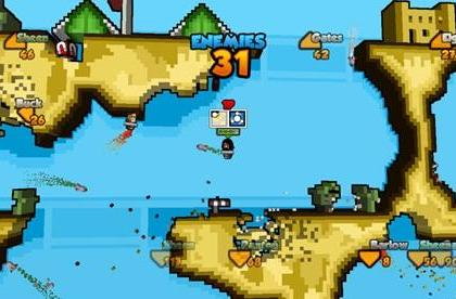 THQ bombing XBLA with Rocket Riot this fall
