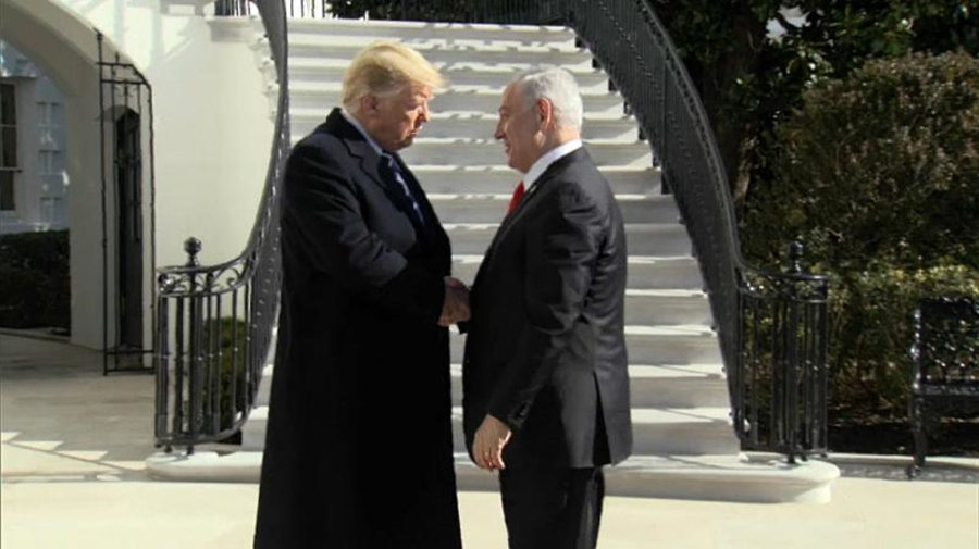 Medio Oriente: incontro tra Trump e Netanyahu alla vigilia della presentazione del piano