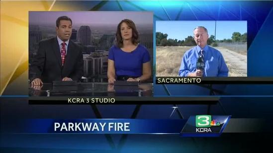 Arson arrest made in grass fire; woman also suspected in parkway blazes