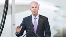 Boeing CEO says 737 production plans safe for now