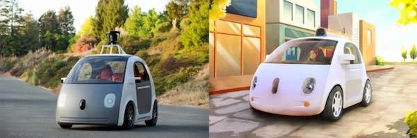 Google anuncia un auto sin conductor que no tiene ni volante ni pedales