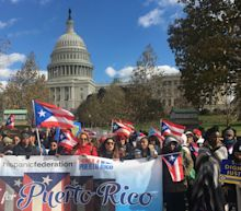 Thousands March On National Mall To Demand Puerto Rico Disaster Relief