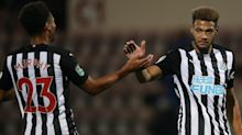 Joelinton at the double as Newcastle put seven past League Two Morecambe
