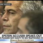 Jeffrey Epstein accuser speaks out, urges judge to reject bail