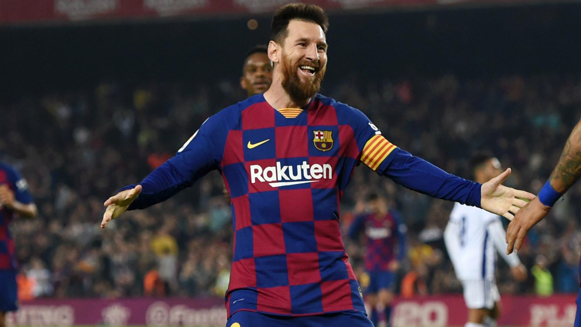Image result for Magical Messi sends Barcelona top in Valladolid rout