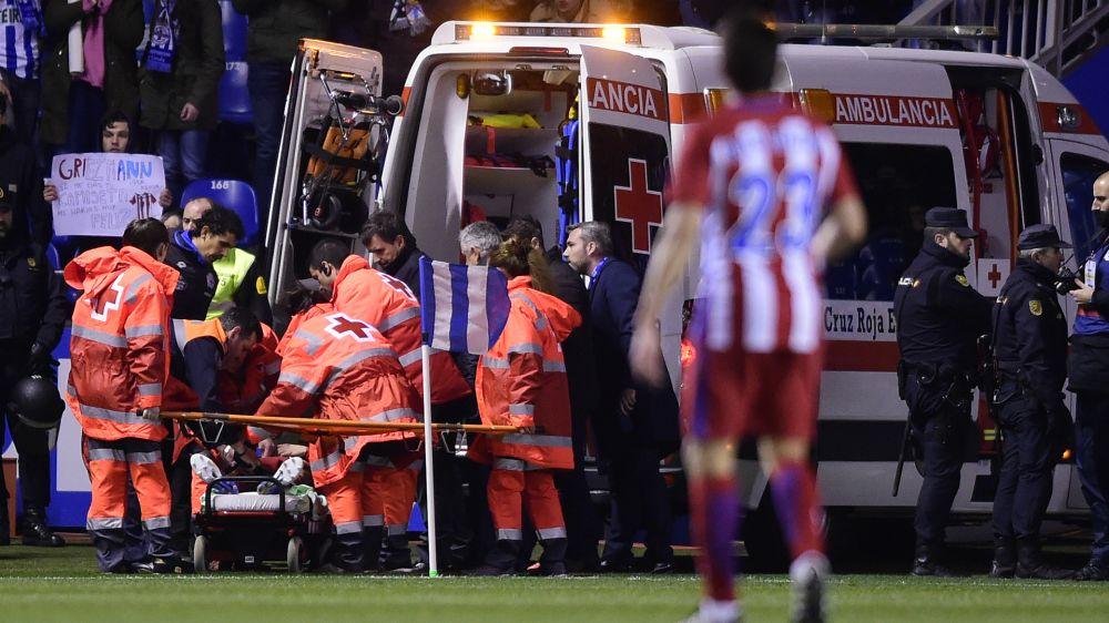 """Simeone, sobre su reacción en el incidente de Torres: """"¿Qué puede hacer el entrenador en ese momento?"""""""