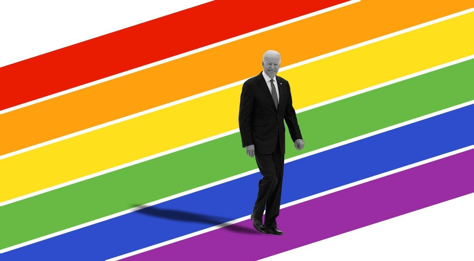 How Biden became the most LGBTQ-friendly president