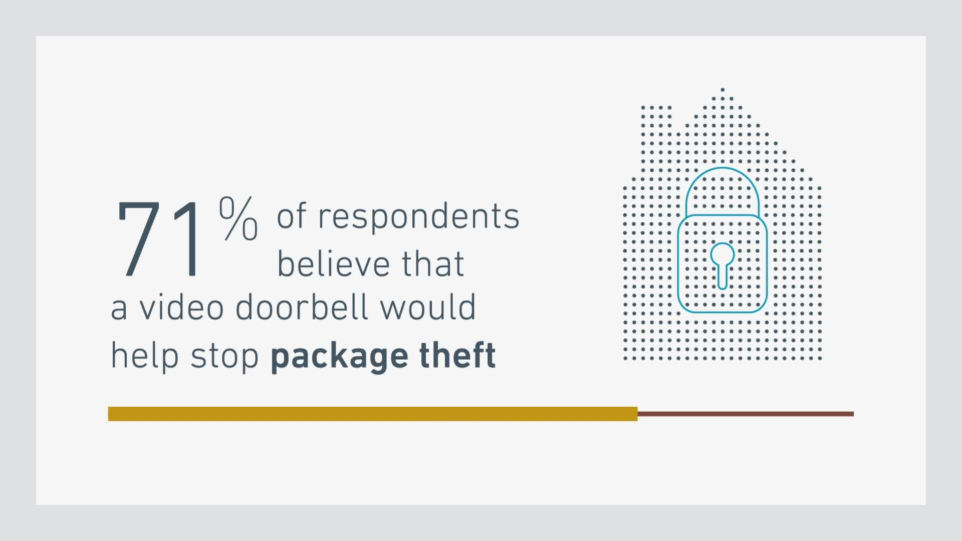 Americans are seriously worried their holiday packages will be stolen by a porch pirate