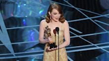 Emma Stone and Brie Larson Break Down Crying at the Oscars