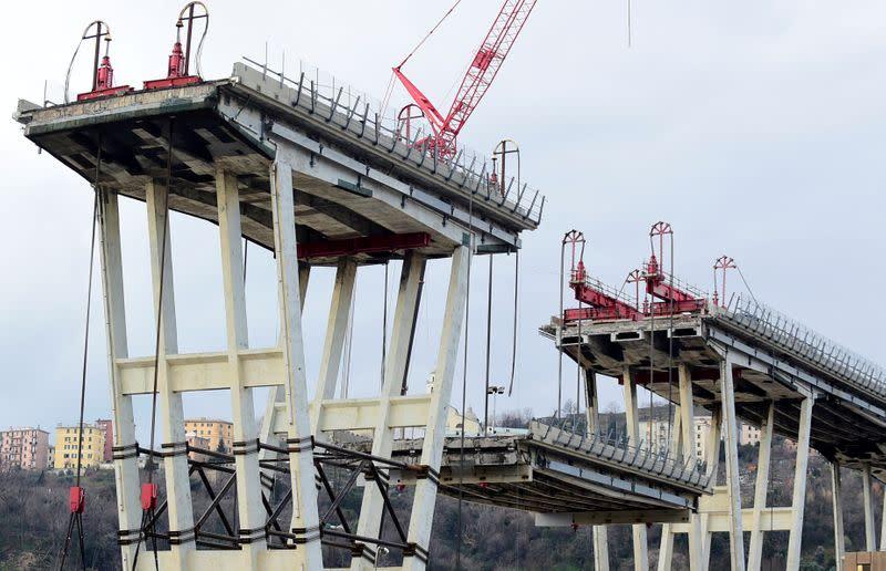 Italy law excluding Atlantia from bridge rebuild not unlawful: court