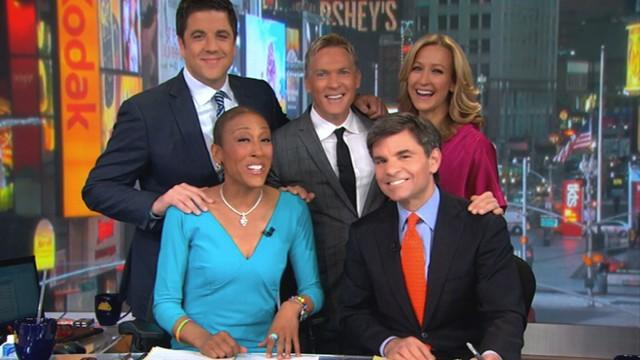 GMA's Monthly Mash-Up Celebrates Robin Roberts' Return