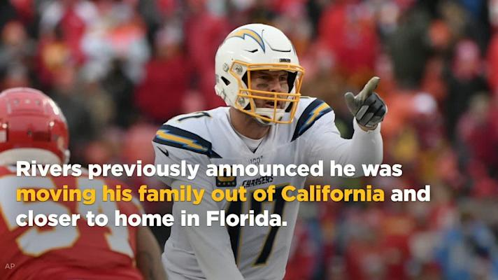 Chargers have reportedly 'moved on' from QB Philip Rivers