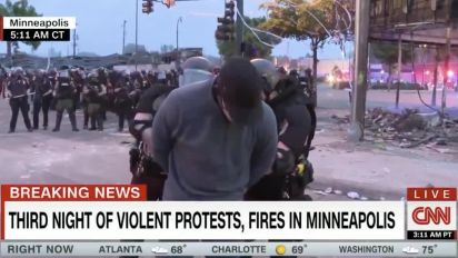 Cops in Minneapolis arrest CNN reporter live on air