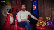 Avengers star Chris Evans sets pulses racing reading CBeebies Bedtime Story