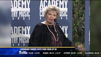 Legendary singer Patti Page dead at 85