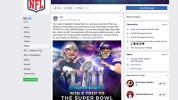 NFL Facebook post jumps the gun on Super Bowl teams