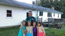 Teacher takes former students to daddy-daughter dance after they lose their father