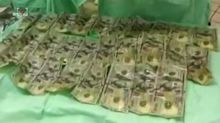 Colombian woman swallows over £5,000 in cash