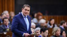 Andrew Scheer's Anti-Blockades Speech Denounced By Party Leaders