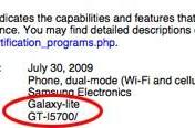 """Samsung i5700 """"Galaxy-lite"""" gets WiFi approval -- Android on the cheap?"""