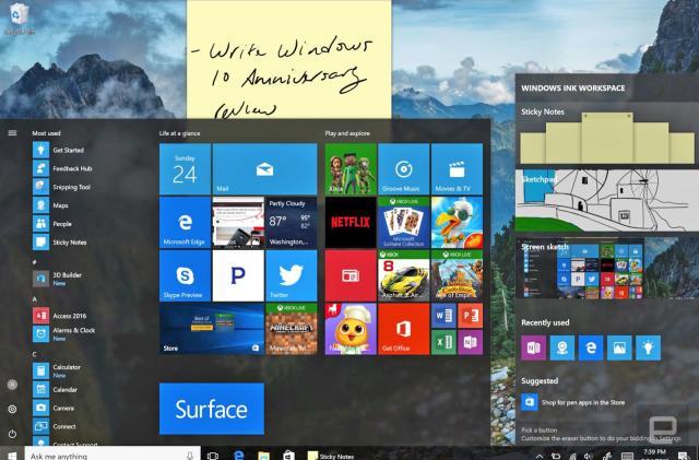 Windows 10's Anniversary Update arrives