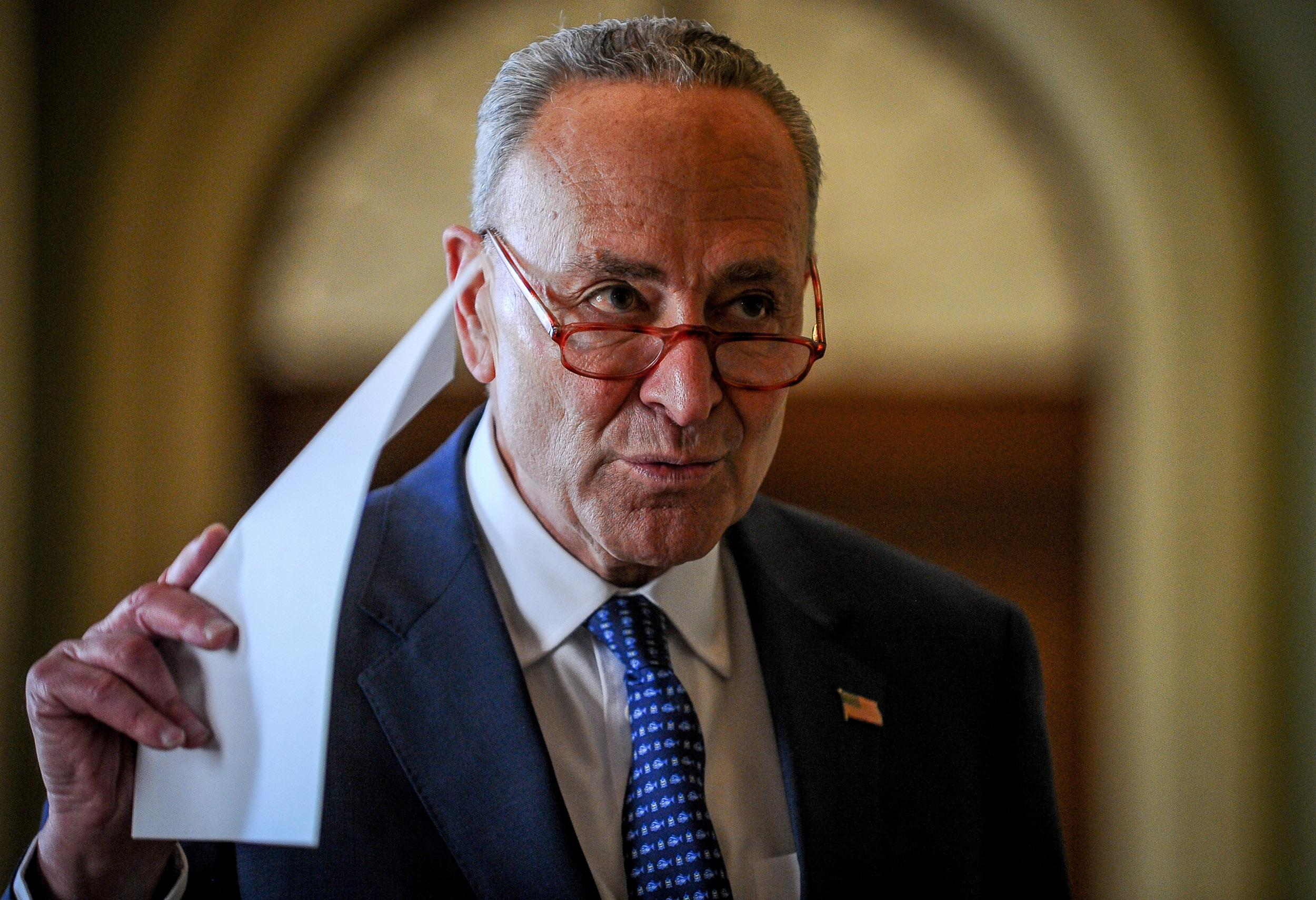 Schumer: Deal Reached on Major Parts of $500B Virus Aid