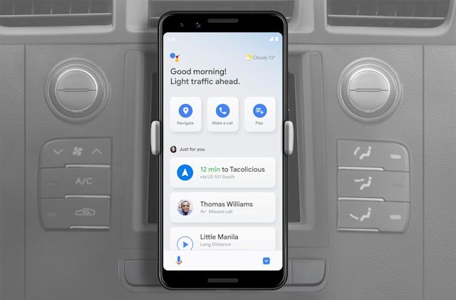 Google Assistant's driving mode for Android is nearly ready, one year later