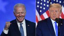 """Trump estime que Biden ne devrait pas revendiquer la victoire de façon """"illégitime"""""""