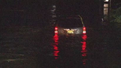 3 rescued from car, severe weather sweeps through Philadelphia area