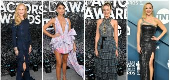 Margot Robbie and Nicole Kidman dazzle at the SAGs