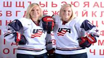 Jocelyne and Monique Lamoureux on why they're a dynamic duo on the ice
