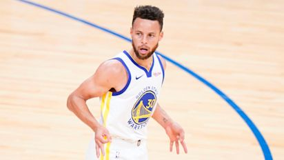 Steph Curry shooting masterclass leads Golden State to victory over Sixers
