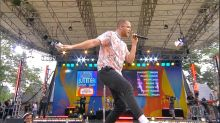 Imagine Dragons wows the Central Park crowd with their hit 'Whatever It Takes'